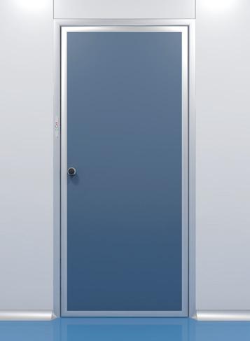 Porte a battente su parete mobile